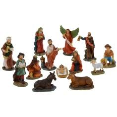 Set Natività 5 cm 13 soggetti per presepe
