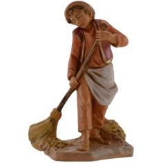 Boy who sweeps series 12 cm Fontanini