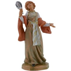 Donna che si specchia 12 cm Fontanini