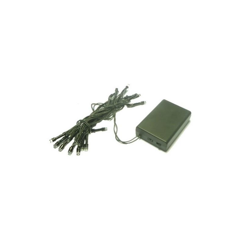20 led cold light battery necklace - F20