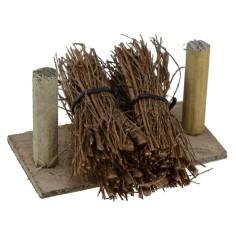 Fasci di legna accatastati cm 8,5x6,5x4,5 h.