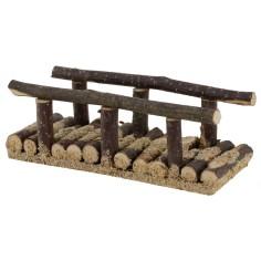 Ponte in legno cm 10x3,8x3,5 h. per presepe