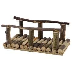Ponte in legno cm 15,3x7,5x6,3 h.