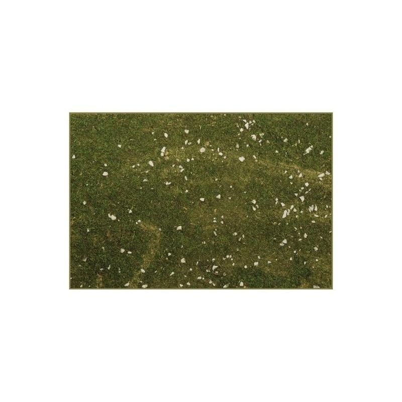 Mondo Presepi Carta muschio presepe con pietrisco cm 75x50
