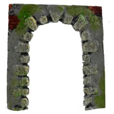 Romanesque arch in resin h. 10.7 cm