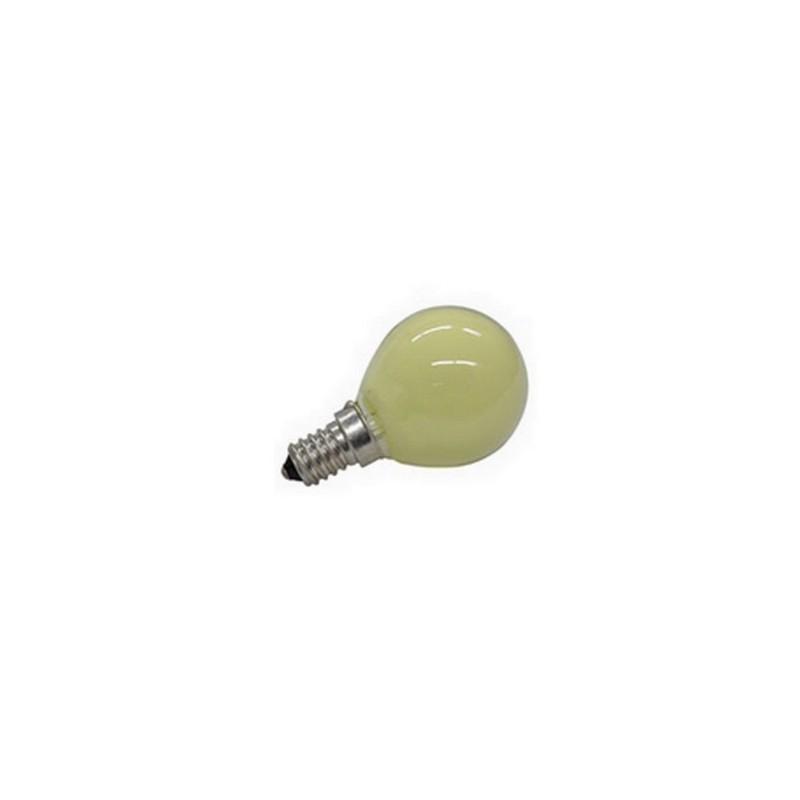 Mondo Presepi Lampada E14 - 25W gialla - Lampadina per