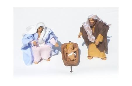 Classic nativity 10-11 cm jointed