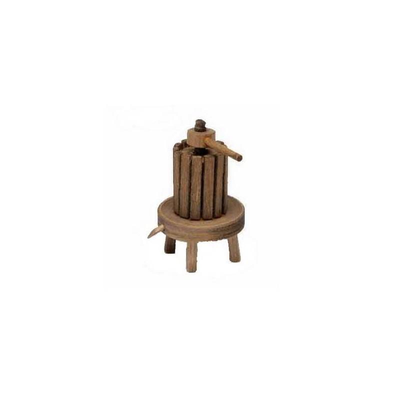 Mondo Presepi Torchio in legno cm 7