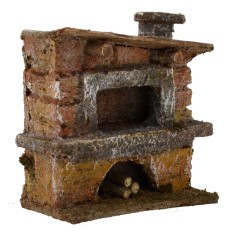 Oven for presepe cm 7x4x7 h. for statues 6 cm