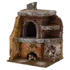 Angular oven for presepe cm 11 ,5x10x15 h. for statues 10 cm