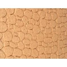 Pannello in sughero a pietre piccole cm 33x17x1