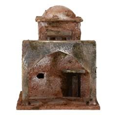 Abitazione araba con cupola cm 10x9x13 h