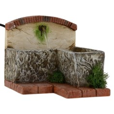Fountain functioning for presepe cm 17x12x9, 5 h.