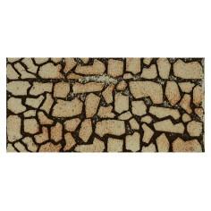 Pannello colorato in sughero a pietre grandi cm 25x12x1