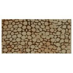 Pannello colorato in sughero a pietre piccole cm 33x16x1 per