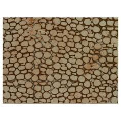 Pannello colorato in sughero a pietre piccole cm 33x25x1