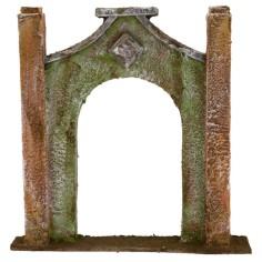 Entrance arch cm 20x4x20 h for statues 10 cm