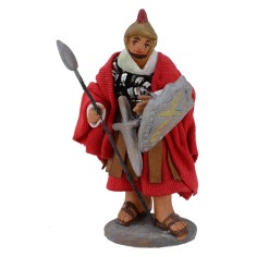 Centurion with spear and shield 10 cm