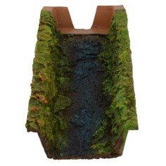 Cascade in resin composable cm 27x12x5 h presepe
