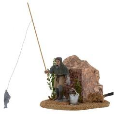 Fisherman in motion 8 cm Oliver