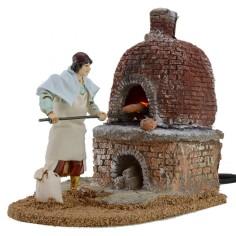 Baker in motion 12 cm Landi with fire