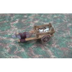 Carro in legno con maialini  - FCPM