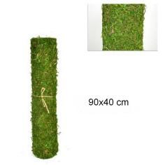 Muschio per presepe a tappeto colorato in rotolo da 90x40 cm