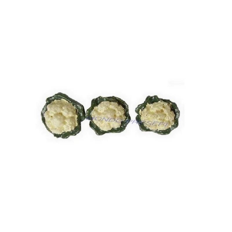 Set 3 cavolfiori 1,2 cm Mondo Presepi
