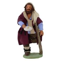 Beggar without leg 12 cm
