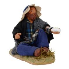 Beggar sitting series 12 cm