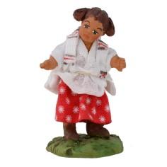 Bambina con codini serie 12 cm