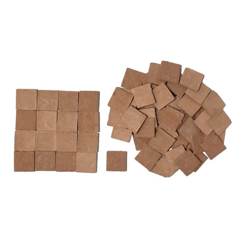 Pavimento quadrato mm 14x14 in cotto disponibile in: Mondo