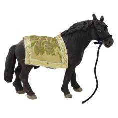 Cavallo sellato per statue 12 cm