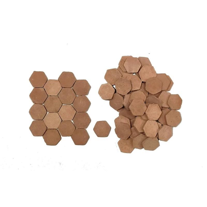 Pavimento per presepe esagonale mm13 disponibile in: