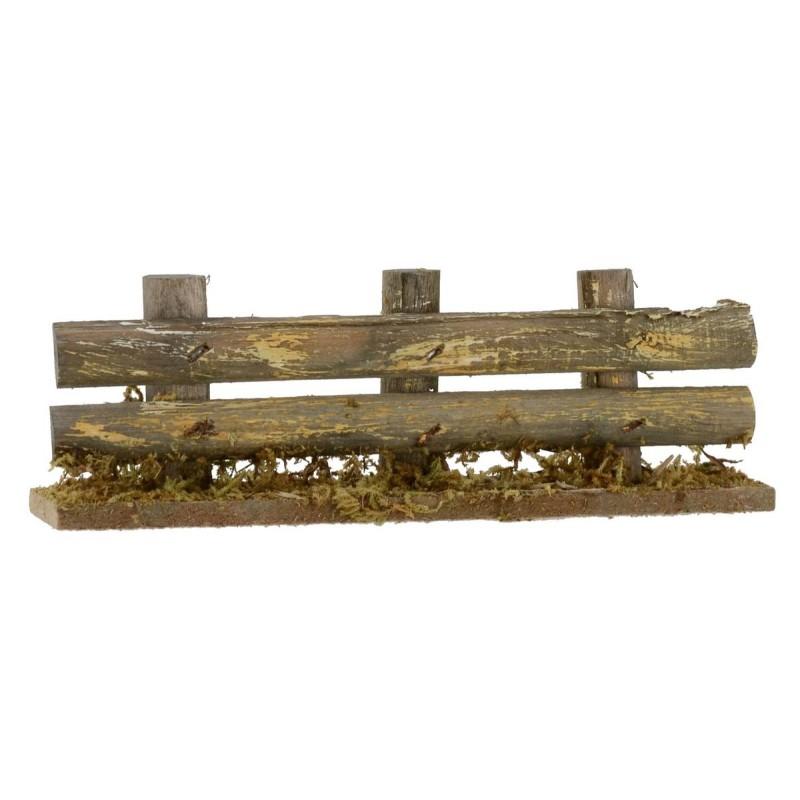 Steccato lineare in legno cm 14x3x5 h