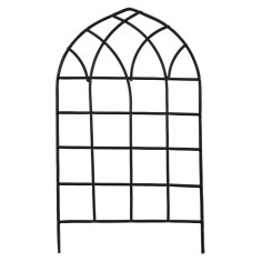 Black metal gate cm 7,5x13 h