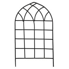 Cancello in metallo nero cm 7,5x13 h