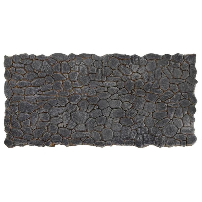 Lastricato in resina grigio cm 31x15,5x0,6 h per presepe fai da