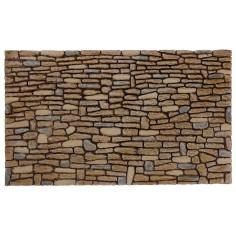 Parete di pietre dipinte in resina cm 26x16x0,9 h per presepe