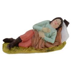Dormiente in resina serie 10 cm