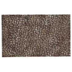 Parete di pietre piccole dipinte in resina cm 25,5x16x0,8 h per