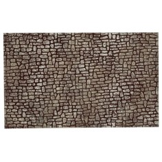 Wall of small stones painted in resin cm 25,5x16x0, 8 h for