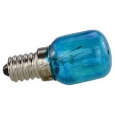 Lampada celeste 15W 220V. attacco E14