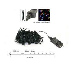 180 Minilkilling led multicolored for exterior-interior with games