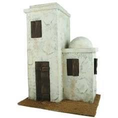 Arab house double cm 11 ,5x8, 5x16 h