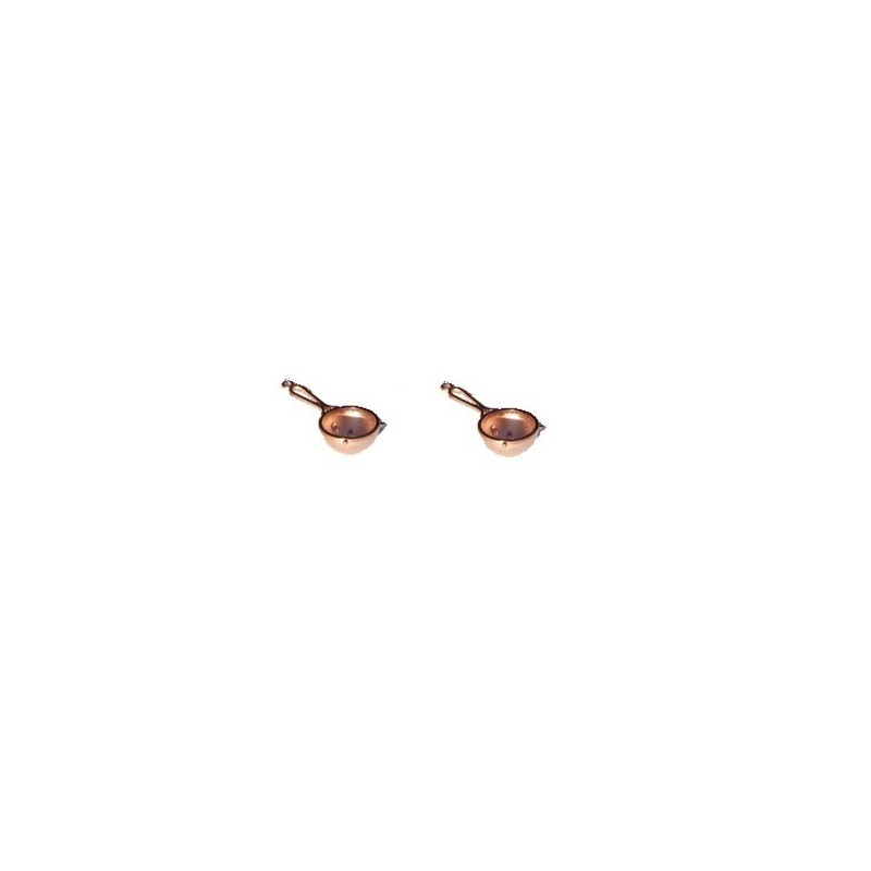 Set of 2 copper strainers - 86760