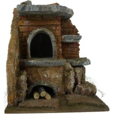 Oven for presepe cm 24x20x26, 5 h for statues of 20 cm
