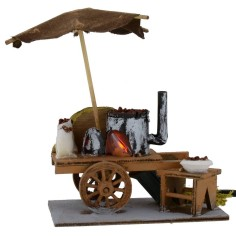 Castagnaro wagon with working fire 11x6, 5x13, 5 h cm for