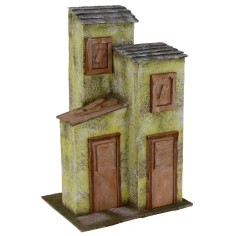 Casa a tre colonne cm 24x17,5x36 h per statue 12 cm