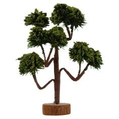 Albero con chioma verde h. 13 cm